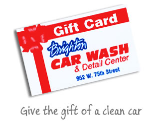 Give the gift of a clean car